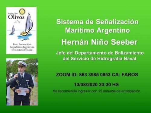 Sistema de Señalización Marítimo Argentino