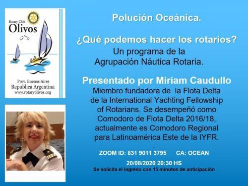 Polución Oceánica